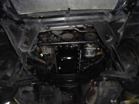 AE86 トレノ オイル漏れ点検