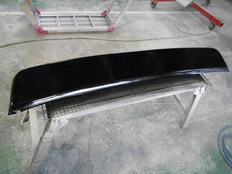 AE86 レストア リアスポイラー 塗装