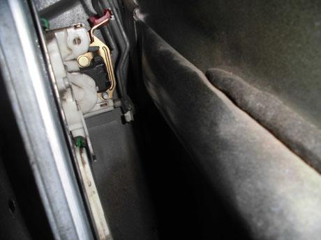 S14シルビア ドアロック交換