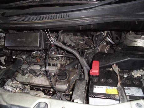 ANH15 V6 プラグ交換