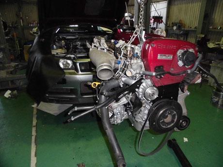 BNR34 RB26エンジン