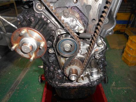 AE86 タイミングベルト交換