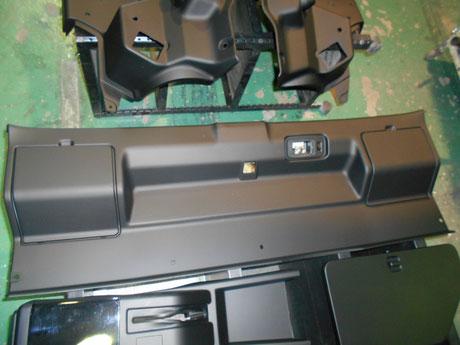 AE86 レビン トレノ 内張り塗装