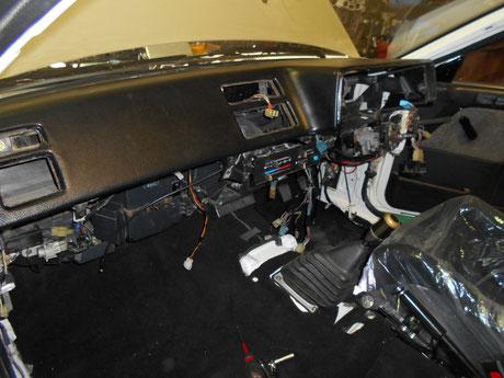 AE86トレノ レストア 室内組付け