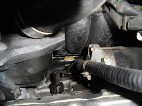 RF3 ステップワゴン ノックセンサー取付け
