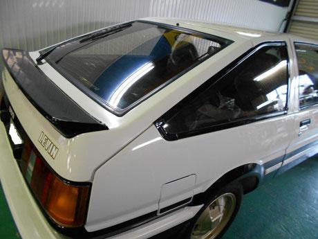 レストア AE86レビン