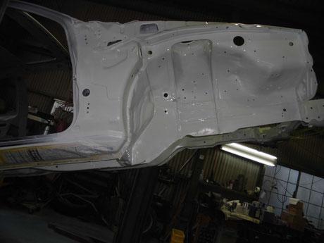 AE86 トレノ クリヤ塗装