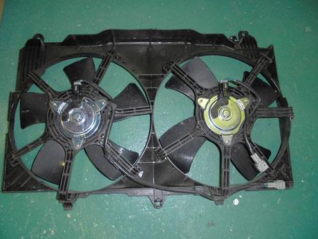 Z33 ファンモーター交換
