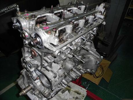 DB8 バルブクリアランス調整