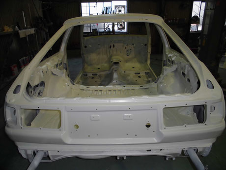 AE86 トレノ スポット増し 補強