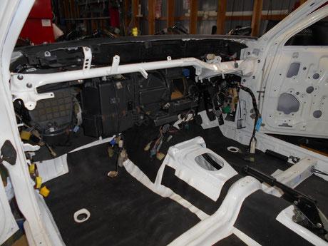 AE86 トレノ レストア 室内