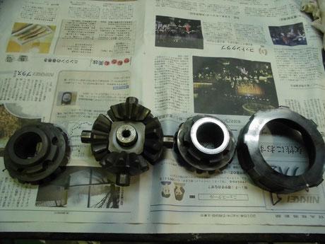 ECR33 デフ分解 洗浄