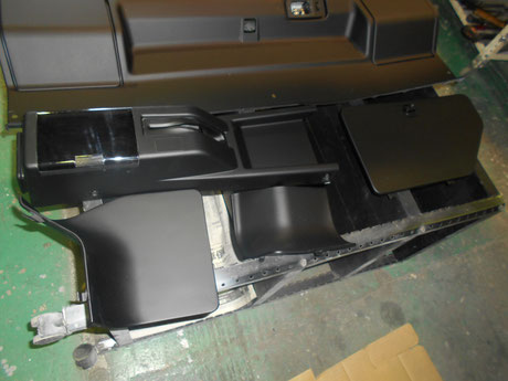 AE86 内装塗装