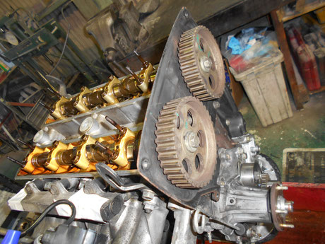 4AG オイル漏れ修理