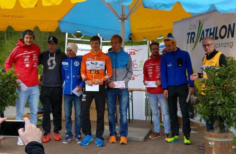 Sieger City Triathlon Backnang 2016 Landesliga Dominik Sowieja