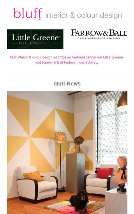 Newsletter September 48 Bluff Interior Colour Design Impressive Interior Design Newsletter