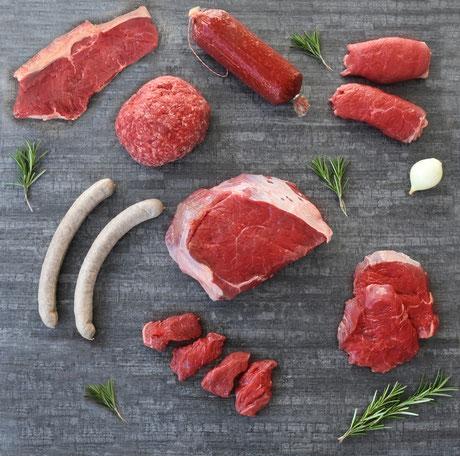 Fleisch vom Gallowaay, direkt beim Landwirt online bestellt - ein Genuss!