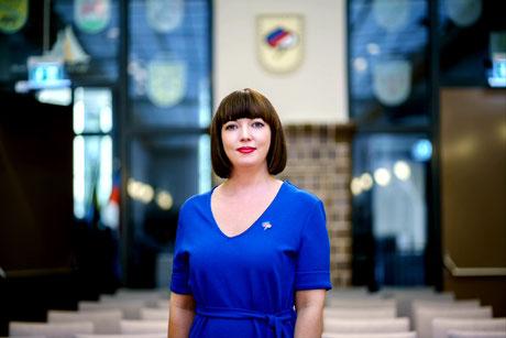 Sabrina Kuschy, Sorbenbeauftragte des Landkreises Dahme-Spreewald, Foto: LDS/Stefan Otto/frameratemedia.de