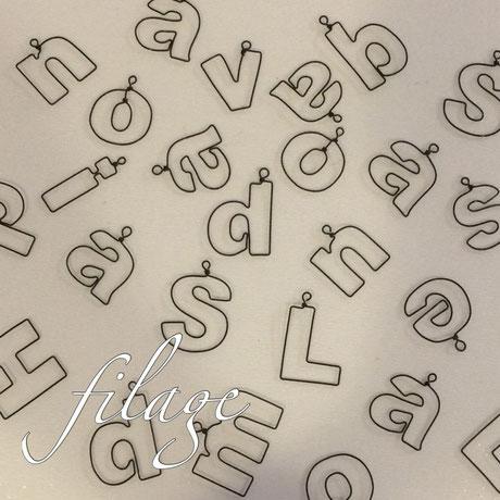 小文字アルファベット