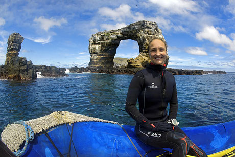 Galapagos Shark Diving - Gründerin Jenny Waack