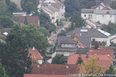 Die Fotos wurden nach dem Treppenlauf der Feuerwehr vom Carl-Schill-Turm gemacht.