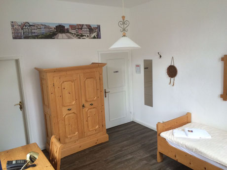 Zimmer der IPA-Main-Tauber auf Schloss Gimborn