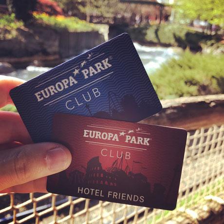 Europa-Park Jahres- und Clubkarte