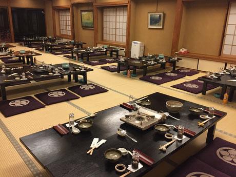 嵐山辨慶の宴会場