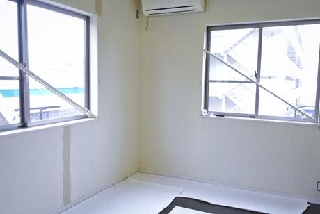 明るい2階の客室②