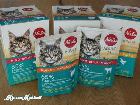Katzenfutter Nala von der Migros im Test