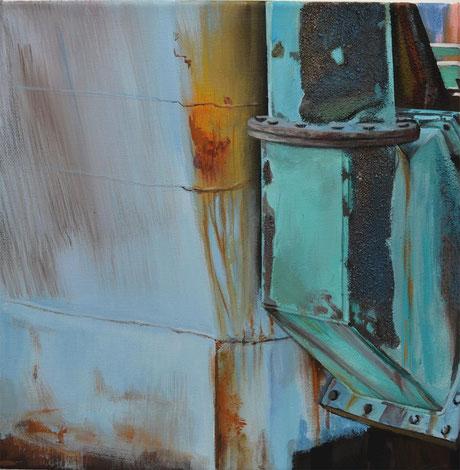 Andrea Ridder Ohne Titel, 40 x 40 cm, 2018