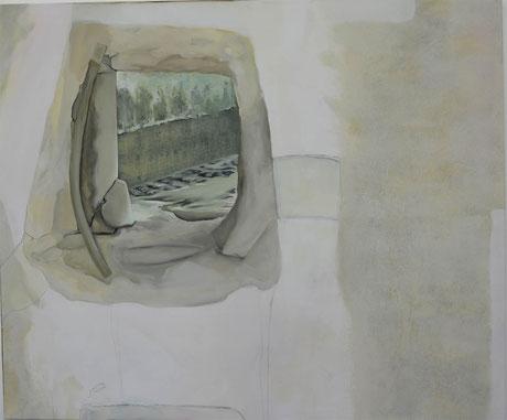Andrea Ridder: O:T. 18_06_08, 100 x 120 cm, 2018