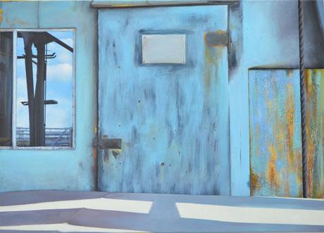 Andrea Ridder: Ohne Titel (Völklingen), 100 x 130 cm