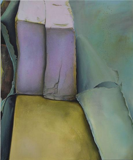 Andrea Ridder: Ohne Titel,  100 x 120 cm, 2018