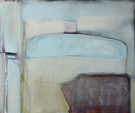 Andrea Ridder, 16_06_09, Acrylmischtechnik, 100 x 120 cm, 2016