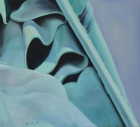 Andrea Ridder, Herman, 2016, 100 x 110 cm, Öl auf Leinwand