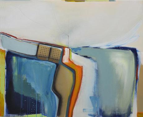 Andrea Ridder: O.T. 17_09_14, 100 x 130 cm, 2017