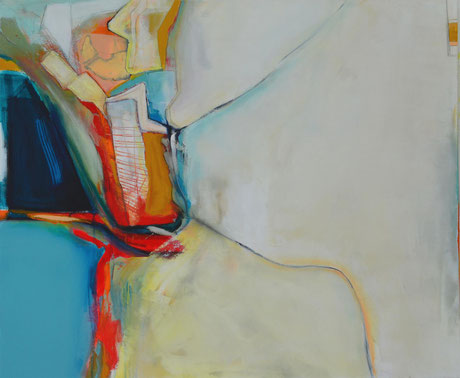 Andrea Ridder: O.T. 18_03_03, 100 x 120 cm, 2018