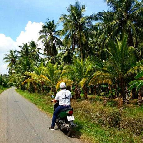Mit dem Roller durchs Mekong-Delta