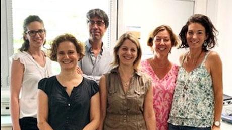 Maïlys Cren, Séverine Kremer, Christian Jorgensen, Danièle Noël, Pascale Louis-Plence et Karine Toupet