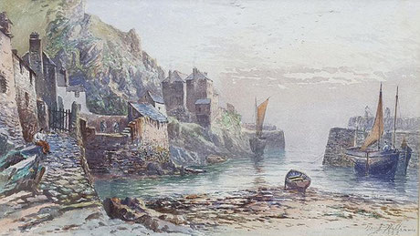 Harry J Williams    'Polperro' (1882)