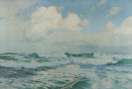 Julius Olsson  'A Song of the Sea'  (Worcester Art Gallery - Art UK)