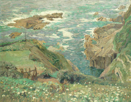 John Anthony Park 'Near Polperro' (1914)