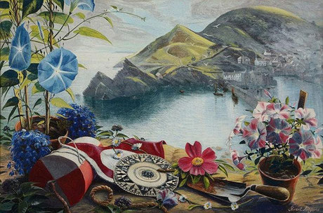 Stuart Armfield  'Polperro from the artist's house'