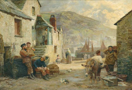 James Clarke Waite  'Polperro'