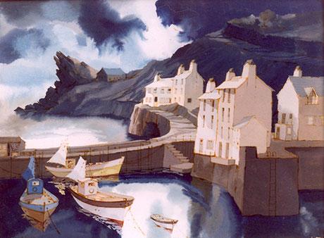 Frederick Cook  'Storm, Polperro'