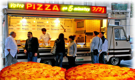 Il camion pizza una alternativa alle pizzerie ed un ottimo street -food.