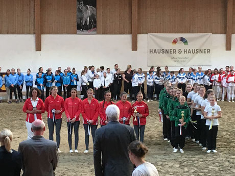 Erfolgreiche Gruppe M am Reuhof | 10 2018
