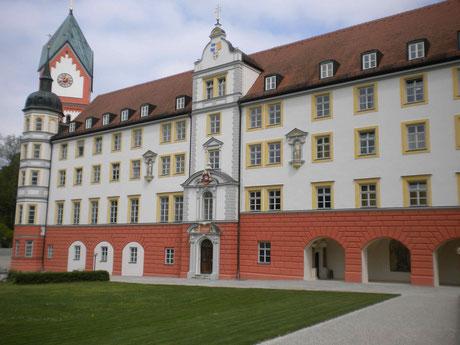Blick vom Innenhof