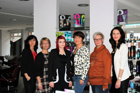 Oksana Berg, Gudrun Petzke, Rebekka Venus, Anja Henningsen, Nicole Wieghorst, Alica Teloy